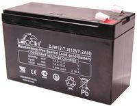 Аккумулятор Leoch DJW 12-7.2 (12В, 7.2Ач / 12V, 7.2Ah / вывод T2)