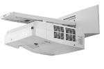 NEC projector UM301W LCD Ultra-short, 1280x800 WXGA, 3000lm, 6000:1, D-Sub, HDMI, RCA, RJ-45, Lamp:8000hrs, incl. Wall-mount