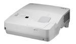 NEC projector UM351W LCD Ultra-short, 1280x800 WXGA, 3500lm, 6000:1, D-Sub, HDMI, RCA, RJ-45, Lamp:6000hrs, incl. Wall-mount