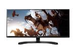 """LG 34"""" 34UM88C-P IPS LED, 3440x1440, 5ms, 300cd/m2, 1000:1 (Mega DCR), 178°/178°, 2*HDMI, Апп.калибровка, USB, Display Port, Tilt, регулировка по высоте, колонки, VESA, Black"""