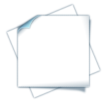 Вставка 45x45 на 2 кейстоуна, со шторкой, маркировкой и иконками, белая