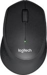 Logitech Wireless Mouse M330 SILENT PLUS, Black, [910-004909]