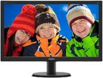 "23,8"" Philips 240V5QDAB 1920x1080 IPS-ADS LED 16:9 5(14)ms VGA DVI-D HDMI 10M:1 178/178 250cd Speakers Black.(240V5QDAB/00/01) (существенное повреждение коробки)"