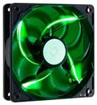 Вентилятор для корпуса SickleFlow 120 Green (R4-L2R-20AG-R2) 120 мм, 19 dBA, 3 пин, зелёная подсветка, 2000 об/мин, потребляемая мощность 4,2 Вт