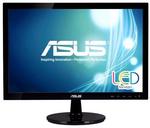 "ASUS 18.5"" VS197DE LED, 1366x768, 5ms, 200cd/m2, 90°/65°, 50M:1,D-Sub, регулировка наклона, Black, 90LMF1001T02201C-"
