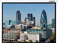 Экран моторизированный Master Сontrol  1:1 (203х203), рабочая область (197х197), MW FiberGlass