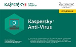 Kaspersky Anti-Virus Russian Edition.  2-Desktop 1 year Renewal Card
