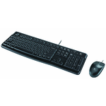 Logitech Desktop MK120, (Keybord&mouse), USB, [920-002561]
