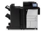 HP Color LaserJet Enterprise flow M880z(p/s/c/f,A3+,46,1200dpi,1,5Gb,5trays100+4*500 ,Duplex,ADF200,Enc.HDD320Gb,PS,USB/GigEth/FIH/HI P,JetLink,LCD8i,KensLock,1y warr,repl.CE664A,CE665A,Q3938A,Q3939A)