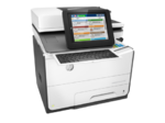 HP PageWide Enterprise Color Flow MPF 586z (p/c/s/f,A4,600dpi,50 (up to 75)ppm,Duplex,2trays 50+500,ADF100,2 Gb, HDD,enhanced Scanner,  keyboard, USB2.0/GigEth/2 ext. USB,1y war, repl. B5L06A)