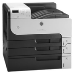 HP LaserJet Enterprise 700 Printer M712xh (A3, 1200dpi, 40ppm, 512Mb, 4trays 250+250+100+500, sHDD250Gb, USB2.0/extUSBx2/GigEth/HIP/ePrint, 1y warr, repl. Q7546A)