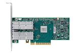 Mellanox ConnectX®-3 VPI adapter card, dual-port QSFP, FDR IB (56Gb/s) and 40/56GbE, PCIe3.0 x8 8GT/s, tall bracket, RoHS R6