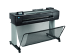 """HP DesignJet T730 Printer (36"""",4color,2400x1200dpi,1Gb, 25spp(A1 drawing mode),USB/GigEth/Wi-Fi,stand,media bin,rollfeed,sheetfeed,tray50 (A3/A4), autocutter,GL/2,RTL,PCL3 GUI, 1y warr)"""