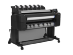 """HP DesignJet T2530 MFP (p/s/c, 36"""",2400x1200dpi, 128GB, HDD 500GB, 2 rolls, autocutter, output tray; Scanner 36"""",600dpi; stand, touch display, ext USB, GigEth, 2y warr, repl. CR358A)"""