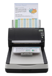 Fujitsu scanner fi-7280 (flatbed, CCD, A4, long document to 210x5588 mm, 600 dpi, 80 ppm/160 ipm, ADF 80 sheets, Duplex, 1 y warr)