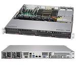 Supermicro SuperServer 1U 5018R-MR no CPU(1) E5-2600/1600v3/v4 no memory(8)/ on board C612 RAID 0/1/5/10/ no HDD(4)LFF/ 2xGE/ 1xFH/ 2x400W Gold/ Backplane 4xSATA/ (незначительное повреждение коробки)