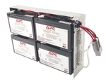 Battery replacement kit for SUA1500RMI2U, SU1400RM2U, SU1400RMI2U, SU1400R2IBX120 (сборка из 4 батарей в металлическом поддоне)