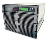 APC Symmetra RM 2.8kW/4kVA Expandable to 4.3kW/6kVA or N+2, Вх. 230V / Вых. 230V,  (8)C13, (2)C19; DB-9 RS-232, RJ-45 10 Base-T ethernet for web/ SNMP/ Telnet man.,8 U