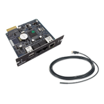 APC UPS Network Management Card 2 with Env. Monitoring  (HTTPS/SSL, SSH (up to 2048-bit encr.), SNMPv3, CD with software, Temp. Sensor  (new release AP9619)
