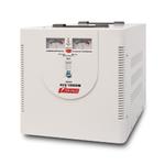 Powerman AVS-M Voltage Regulator 10000VA, Analog Indication, Hardwire Input/Output, 230V, 1 year warranty, White