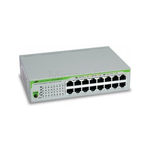 Allied telesis 16 port 10/100/1000TX unmanaged switch with internal power supply EU Power Adapter