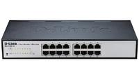 """D-Link DES-1100-16/A2A, 16 ports compact 11"""" EasySmart switch"""