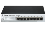 D-Link DES-1210-10/ME, WEB Smart III Switch with 8 ports 10/100Mbps and 2 Combo 10/100/1000BASE-T/SFP