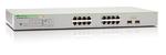 Allied Telesis Gigabit Smart Access PoE+ switch 16 ports