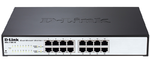 D-Link DGS-1100-16/B2A, 16-port 10/100/1000Base-T Smart switch 16-port 10/100/1000Base-T Metro Ethernet Switch 802.3x Flow Control, 802.3ad Link Aggregation, PortMirroring,  802.1Q VLAN up to 128, VID