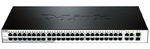 D-Link DES-1210-52/C1A, WEB Smart III Switch with 48 ports 10/100Mbps and 2 ports 10/100/1000Mbps and 2 Combo 10/100/1000BASE-T/SFP