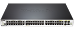 D-Link DGS-3120-48PC/B1ARI, 48-Port Managed L3 Gigabit Switch, PoE support