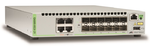 Allied telesis 12x SFP+, 4x 10/100/1000/10G-T, Intelligent Switch, STK, EU Power Cord
