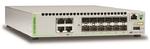 Allied telesis 12x SFP+, 4x 10/100/1000/10G-T, Intelligent Switch, STK, EU Power Cord