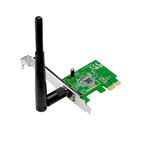 ASUS PCE-N10 // WI-FI 802.11n, 150 Mbps PCI-E Adapter, 1 антенна ; 90-IG1Q003M00-0PA0-