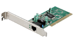 D-Link DGE-528T/20/C1B, Gigabit Ethernet PCI NIC / 20pcs in package 10/100/1000Mbps Gigabit Ethernet UTP NIC 32-bit PCI 2.3 (Bus Master),  ACPI/WOL function compliant, IEEE802.3x Flow Control, Full Du