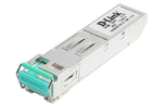 D-Link DEM-220T, 100Base-BX-D Single-Mode 20KM SFP Transceiver (TX-1550/RX-1310 nm)