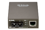 D-Link Fast Ethernet Twisted-pair to Fast Ethernet Single-mode Fiber (30km, SC) Media Converter Module