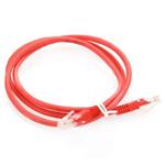 ITK Коммутационный шнур (патч-корд), кат.5Е UTP, 0,5м, красный