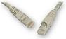 ITK Коммутационный шнур (патч-корд), кат.6 UTP, 0,5м, серый