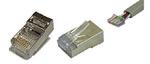 ITK Разъём RJ-45 FTP для кабеля кат.5Е, 8P8C(20 штук)