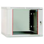 Шкаф телекоммуникационный настенный разборный 12U (600х350) дверь стекло, [ ШРН-Э-12.350 ]