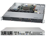 Supermicro SuperServer 1U 5019S-MR no CPU(1) E3-1200v5/6thGenCorei3/ no memory(4)/ on board RAID 0/1/5/10/no HDD(4)LFF/ 2xGE/ 1xPCIEx8, 1xM.2 connector/ 2Rx400W