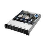 Серверная платформа ASUS RS520-E8-RS12-EV2 // 2U, ASUS Z10PR-D16,  2 x s2011-3 Xeon E5-2600 v3&v4 145w, 1024GB max, 12HDD Hot-swap, 2SSD Hot-swap, 2 x 770W, CPU FAN  ; 90SV03SA-M06CE0