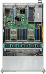 "Intel Server System WILDCAT PASS 2U R2208WTTYSR 943826 2xE5-26**v4/ DDR4 ECC RDIMM x24/ 8x2,5""/ 2x10GBe/ SWRAID(0,1,10,opt.5)/ 12GbSAS Backplane/ 1x1100W redundant PWS"