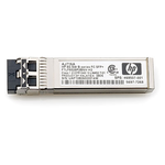 HP 8Gb Short Wave Transceiver Kit (LC connector) for 8/16Gb SAN Switch B-series (analog AJ716A)