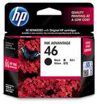 Cartridge HP №46 для Deskjet Ink Advantage 2020hc Printer / 2520hc AiO, черный