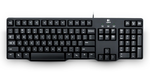Logitech Keyboard K100, PS/2, black, [920-003200]