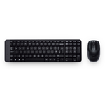 Logitech Wireless Desktop MK220 (Keybord&mouse), USB, Black, [920-003169]