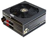 Chieftec PSU GPM-750C 750W Navitas CabMan ATX2.3 EPS12 RTL 14cm 80+Gold Fan ActivePFC Fix:20+4,8p; Man 2x(3xSATA), 3xMolex+Floppy, 4x8(6+2)