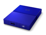 "Western Digital My Passport HDD EXT 1000Gb,  5400 rpm, USB 3.0, 2.5"" BLUE (WDBBEX0010BBL-EEUE)"
